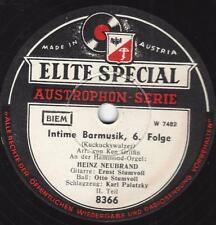 Heinz Neubrand an der Hammond Orgel : Intime Barmusik , Folge 7