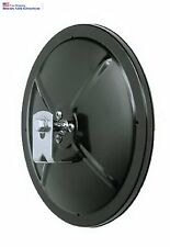 "5"" Round Convex Black Blind Spot Mirror for Safer Driving L Bracket Included New"