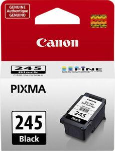 Canon 245 Black Print Cartridge New Genuine Original For Pixma Printers Open Box