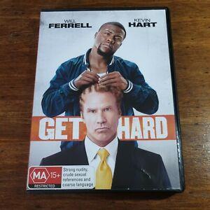 Get Hard DVD R4 LIKE NEW FREE POST