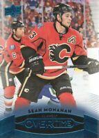 2015-16 Upper Deck Overtime Blue #90 Sean Monahan Calgary Flames