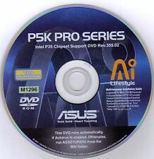 ASUS P5K PRO Motherboard Drivers Installation Disk M1296