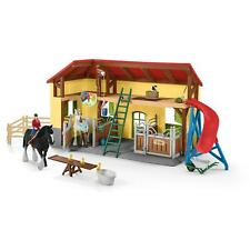 More details for schleich horse stable playset