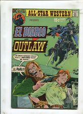 ALL-STAR WESTERN #3 - DEATH DEALS THE CARDS! - (7.0) 1970