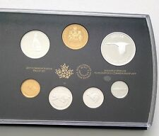 2017 Commemorative Pure Silver 7-Coin Proof Set - 1967 Centennial Coins