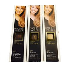 Raquel Welch 10 Piece Clip in Human Hair Extensions