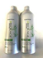 MATRIX BIOLAGE FIBERSTRONG Shampoo & Conditioner 33.8 Oz Or duo Free shipping