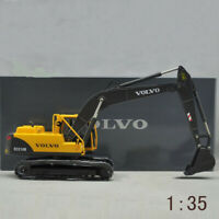 Diecast Toy Model 1:35 VOLVO EC210B Hydraulic Excavator Engineering Machinery