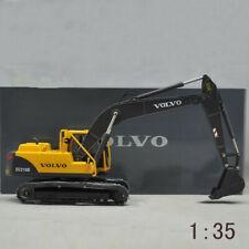 Diecast Toy Model 1:35 VOLVO EC210B Hydraulic Excavator Engineering Machinery