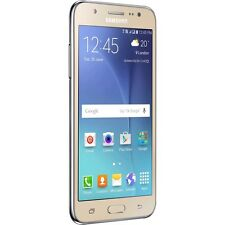 "Samsung Galaxy J5 J500H Gold Dual Sim 5""Super AMOLED 13MP Android Phone By FedEx"