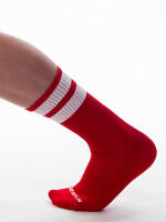 Barcode Berlin Gym Chaussettes Rouge/Blanc 91366/301 Sexy Soldes Envoi Éclair