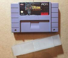 Ultima: The Black Gate (Super Nintendo; 1994) SNES Game Cartridge