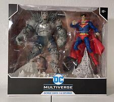 DC Multiverse Dark Nights Metal Batman Earth-1 & Superman. NIP
