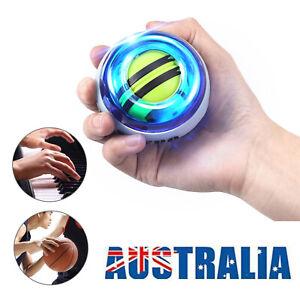Wrist Muscle Power Gyroscope Ball Arm Strengthener Gyro Exerciser Ball LED Light