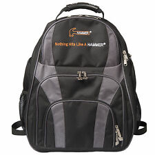 Hammer Deuce Black/Carbon 2 Ball Tote Back Pack Bowling Bag