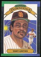 1989 Donruss Diamond Kings #6 Tony Gwynn San Diego Padres