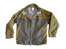 Eastern Mountain Sports EMS Winter Jacket Coat Mens Size 2XL Tan 2 Tone Skiing