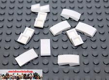 10X Lego® 11477 Bogensteine Dachsteine Slope Curved 1X2 Weiß White NEU 6034044