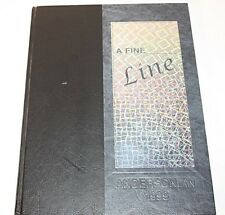 Anderson High School Andersonian 1999 Cincinnati Ohio A Fine Line Year Book