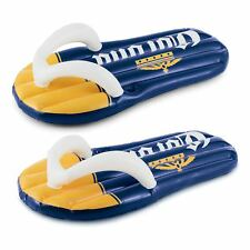 Corona Beer Inflatable Left and Right Pair Flip Flop Pool Floats with Cupholders
