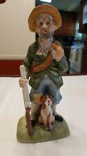 Vintage Porcelain Hunter With Dog, Capodimonte?