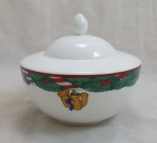 Villeroy & and Boch MAGIC CHRISTMAS sugar bowl with lid