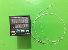 MYPIN Dual Digital F/C PIDThermostat Temperature Controller TA4-SSR+PT100 Sensor