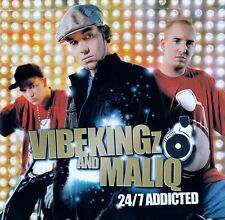 VIBEKINGZ FEAT. MALIQ ‎: 24/7 ADDICTED / CD - TOP-ZUSTAND
