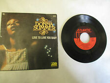 45 T donna summer love to love you baby Atlantic 10693