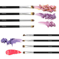 8Pcs Black Eye Makeup Brush Set Eyeshadow Concealer Blending Makeup Begain Use