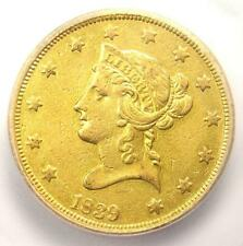 1839/8 Liberty Gold Eagle $10 Coin - Certified ICG XF45 (EF45) - $6,250 Value!