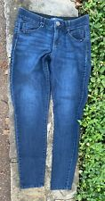 Democracy Ab-Solution High Rise Ankle Skinny Jeans- Indigo Size 6/Elastic Waist
