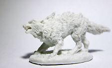 1 x WINTER WOLF - BONES REAPER figurine miniature rpg loup geant hiver 77437