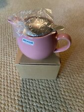 New listing Bee House Ceramic Round Teapot 15oz Bbn-02 Japan Diffuser Included Pink Color