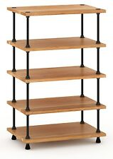 SALAMANDER DESIGNS A5/C Archetype 5-shelf adjustable Audio-Stand natural-cherry