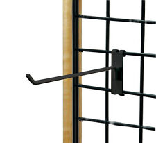 "Count of 50 New Retails Black Grid Hook 12"" Long 3"" O.C. Gridwall"