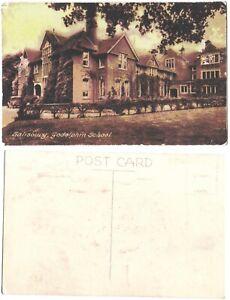 RP 1930s Postcard Godolphin School Salisbury.