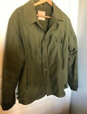 Vintage Military Field Jacket NASNI Navy Air Station North Island Size L