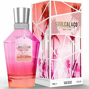 SOULCAL & Co CALIFORNIA SUNSET EDITION EAU DE TOILETTE EDT SPRAY FOR HER 75ML