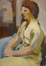 Yvonne DEWALS (XX) HsP / Ecole belge / Expressionnisme / Années 40 ou 50