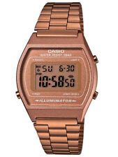 Casio B640WC-5A Unisex Vintage Rose Gold Tone Stainless Steel Digital Watch