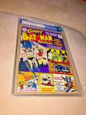 Batman Annual #1 CGC 8.5 ,Cream to Off White Pages
