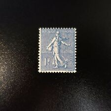 FRANCE TIMBRE TYPE SEMEUSE N°205 NEUF ** LUXE AVEC GOMME D'ORIGINE MNH
