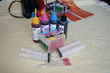 Refillable ink cartridges set for EPSON WF-2510WF WF-2540WF WF-2630WF