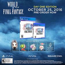 World of Final Fantasy Ps4 [Factory Refurbished]