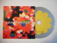 PAULINE ESTER : PEACE & LOVE ♦ CD SINGLE PORT GRATUIT ♦