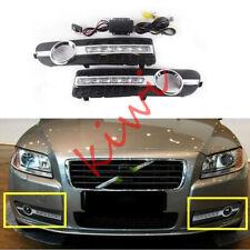 2*Driving lights for Volvo S80 2007-2013 2-COLOR LED DRL Daytime Running Light