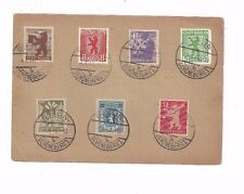 1946 Berlin Stadt Post Bears