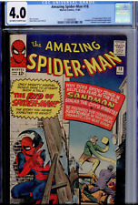 Amazing Spider-Man #18 CGC 4.0OW/WHITE  1st Ned Leeds who becomes Hobgoblin