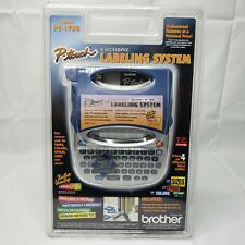 NEW Sealed Brother P-Touch PT-1750 Label Thermal LABEL Printer WITH WHITE TAPE